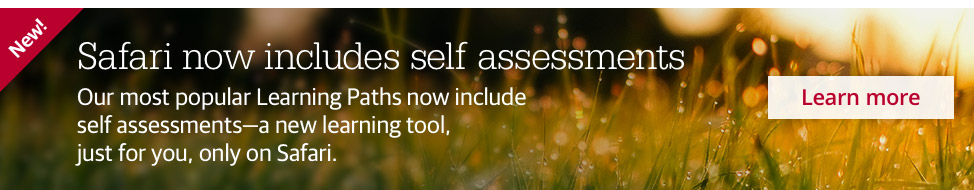 The Safari platform now includes self assessments. Learn more