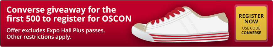 OSCON Converse Promo