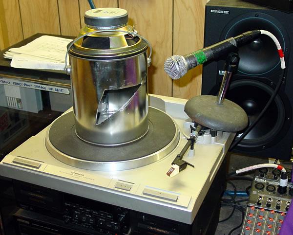 Prototype Leslie speaker