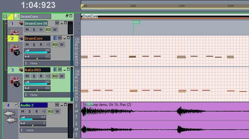 Fig. 7: Dual MIDI Grooves