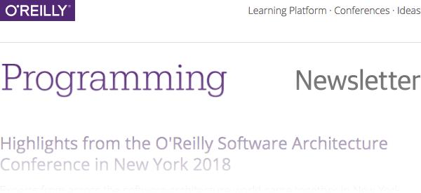 Programming Newsletter