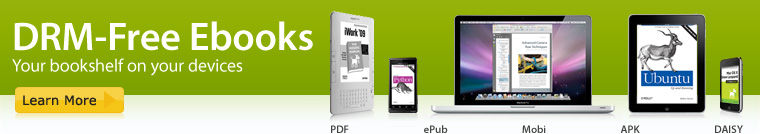 DRM-free ebooks - Your bookshelf on your devices