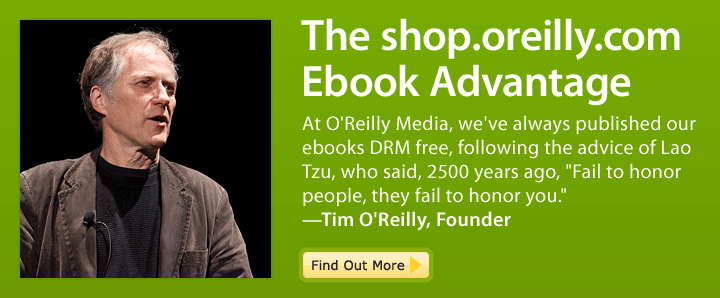 The oreilly.com Ebook Advantage