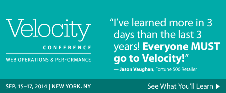 Velocity Conference, September 15 in New York, NY - See what you'll learn