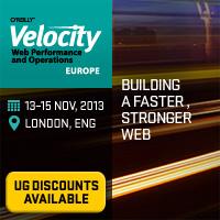 Velocity Europe Conference, November 13–15, 2013, London, England