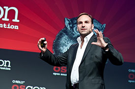 Mark Shuttleworth at OSCON 2012