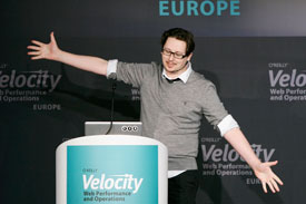 Tom Maslen at Velocity Europe 2013