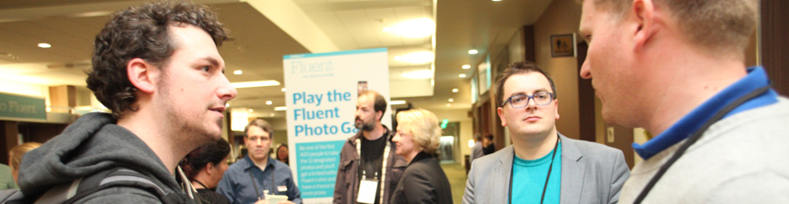 Peter Cooper, Simon St. Laurent, and others at Fluent 2014