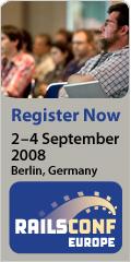 RailsConf Europe 2008