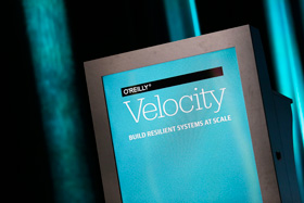 O'Reilly Velocity 2016 in Amsterdam