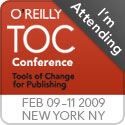 O'Reilly Tools of Change for Publishing Conference 2009