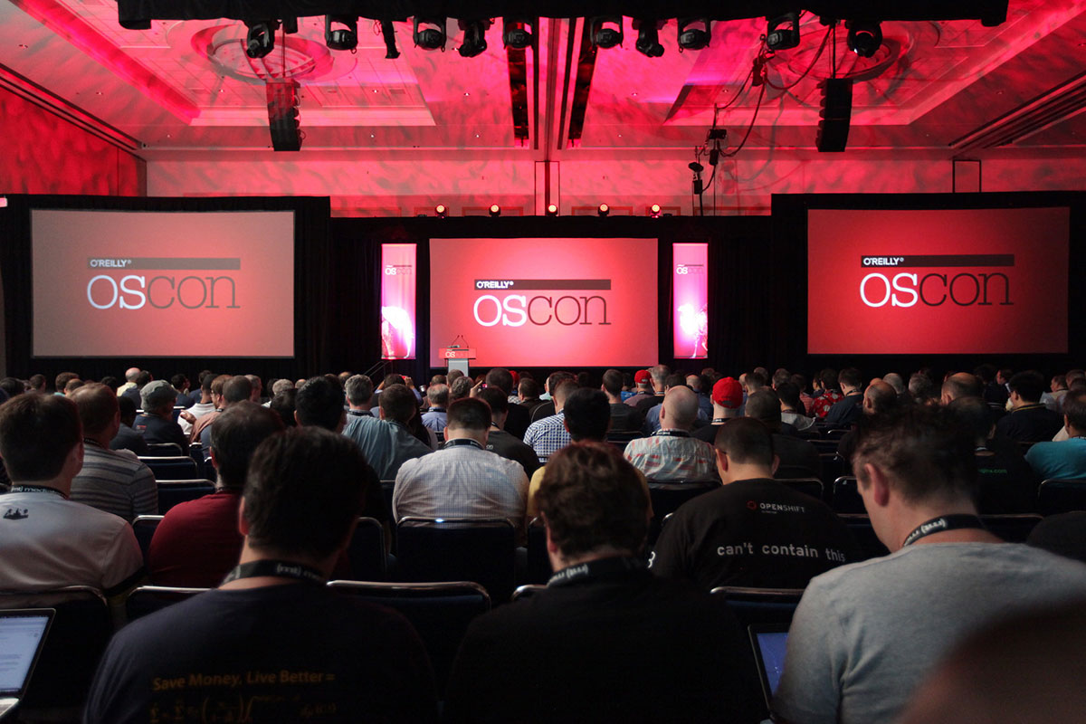 Speaker slides: O'Reilly Open Source Convention: OSCON, May 8 - 11