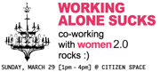Women 2.0 Co-Working with Co-Founders
