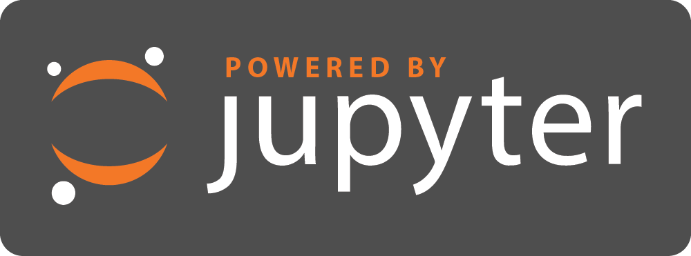 Jupyter Powered By Logo