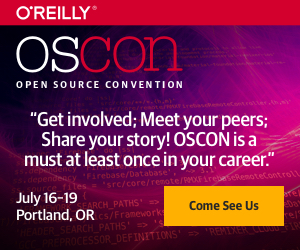 O'Reilly Open Source Convention in Portland 2018