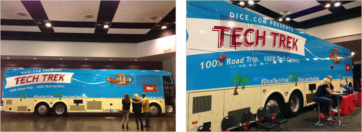 Dice.com Tech Trek Coach