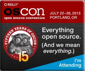 OSCON banner