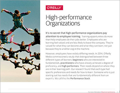 High Performance Organizations cover