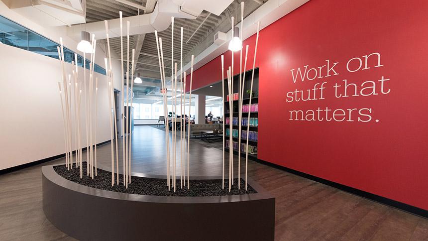 Boston office interior