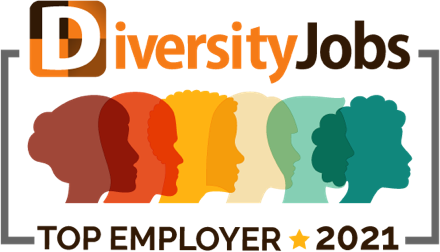 DiversityJobs Top Employer 2021