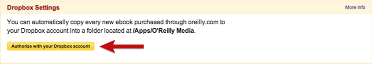 Dropbox Syncing - Customer Service - O'Reilly Media