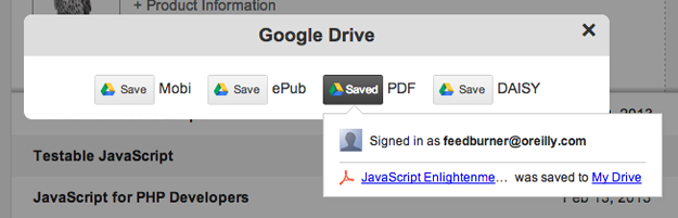 Google Drive success