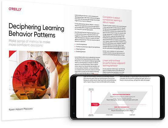 cover for: Deciphering Learning Behavior Patterns