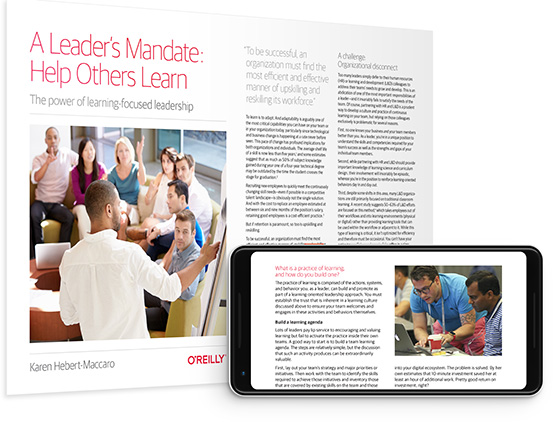 cover for: A Leader's Mandate: Help Others Learn