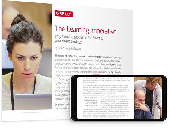 cover for: The Learning Imperative