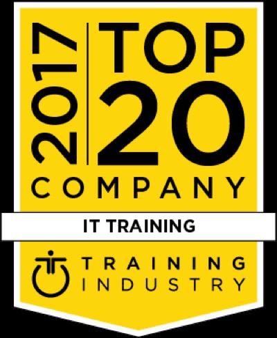 2017 Top 20 I.T. Training Company Award