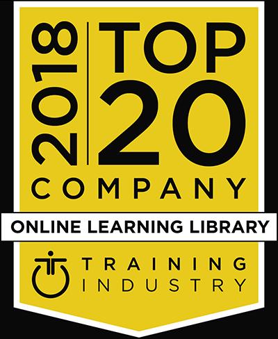2018 Top 20 I.T. Training Company Award