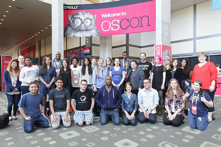 Scholarship recipients, Oscon Austin 2017
