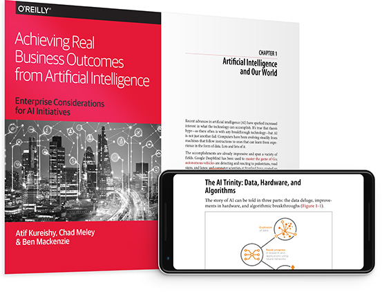 cover for: Achieving Real Business Outcomes from Artificial Intelligence