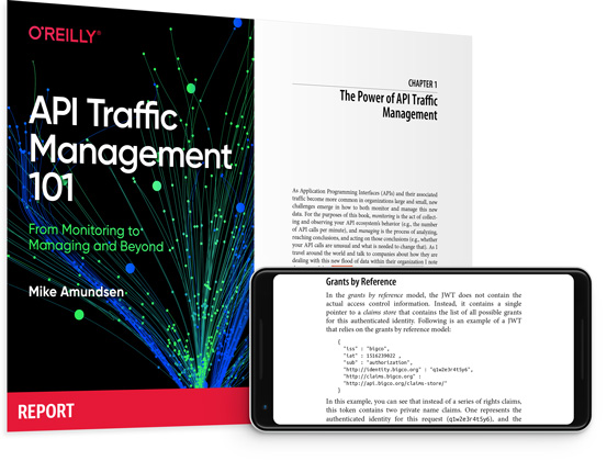 cover for: API Traffic Management 101