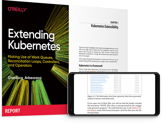 cover for: Extending Kubernetes