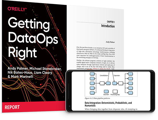 cover for: Getting DataOps Right