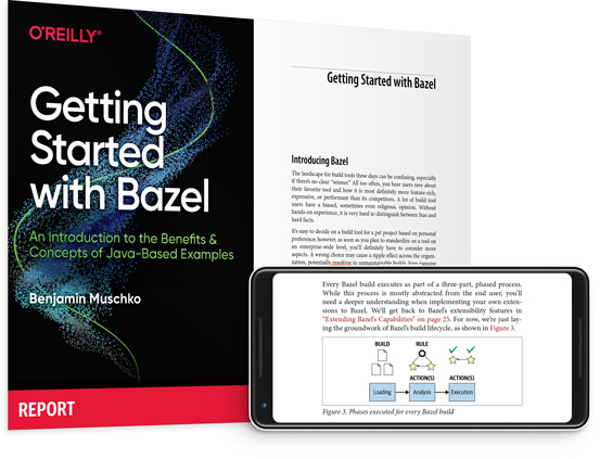 cover for: Getting Started with Bazel