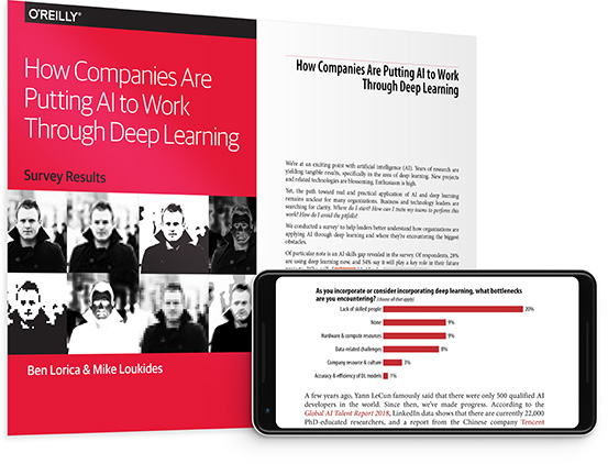 cover for: How Companies Are Putting AI to Work Through Deep Learning