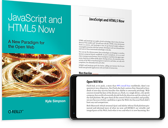 cover for: JavaScript and HTML5 Now