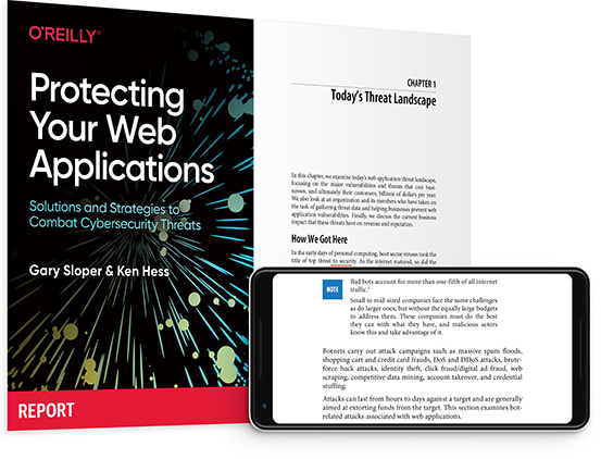 cover for: Protecting Your Web Applications