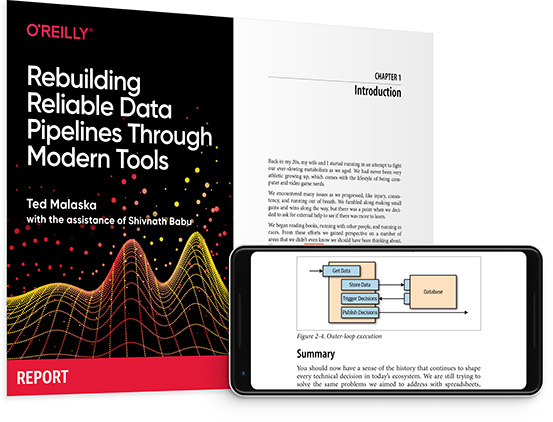 cover for: Rebuilding Reliable Data Pipelines Through Modern Tools