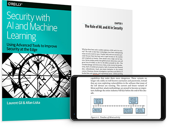 cover for: Security with AI and Machine Learning