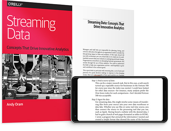 cover for: Streaming Data