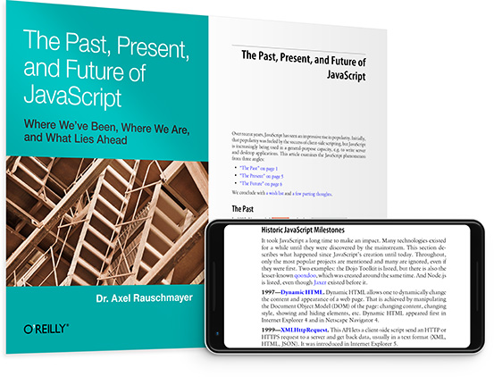 cover for: The Past, Present, and Future of JavaScript