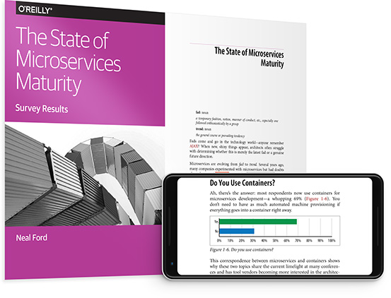 cover for: The State of Microservices Maturity