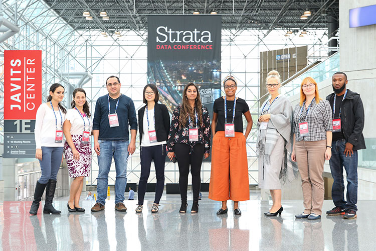 Scholarship recipients, Strata New York 2018
