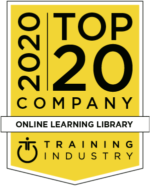 2020 top 20 online learning library, Training Industry